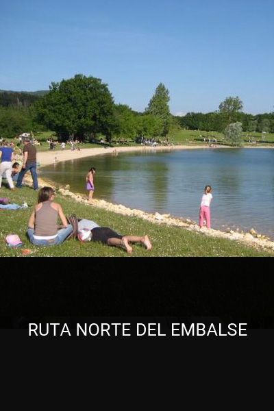 Ruta Norte del embalse